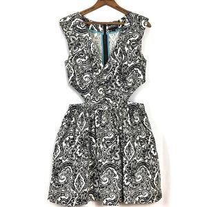 Buffalo David Bitton Cutout Paisley Dress